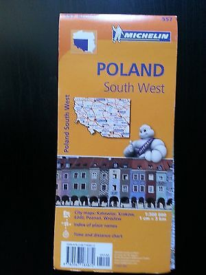 Michelin Southwest Poland Road Map