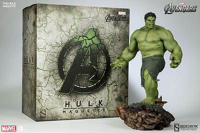 Sideshow Hulk Maquette Statue figure (nt hot toys star wars premium format xm )