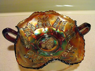 Vintage Iridescent Butterfly Candy dish