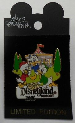Disney pin DLR Pin Trading Nights Collection 2006 (Huey, Dewey, & Louie) LE750