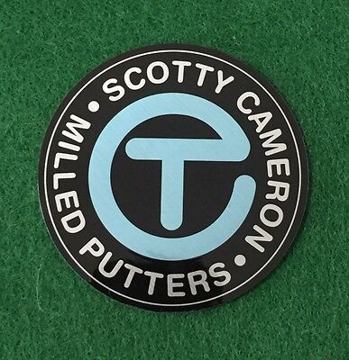 Rare Scotty Cameron Circle T Sticker Blue Light Gallery Limited