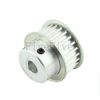 HTD 5M 24T 24-Teeth 21mm-Width Aluminum Timing Belt Drive Pulley Choose Bore