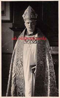 Bishop Cathrew Fisher, Bishop of Nyasaland, Africa - Real Photo