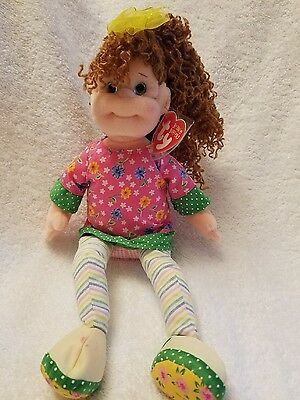 """Ty Beanie Boppers HUGGABLE HOLLY MWMT Retired 2002 12"""""""