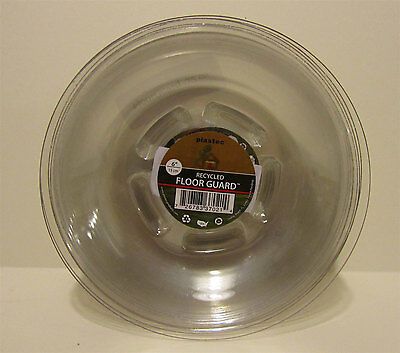 12 Plastec Green House FGR08 Recycled Floor Guard 6-inch Plant Saucers NEW
