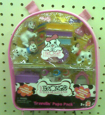 New - Disney's 102 Dalmatians Travelin' Pups Pack - Made In 2000 - Collectible