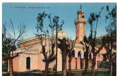 RARE 1907 Postcard Tizi Ouzou  French Algiers North Africa Mosque WWI Unposted