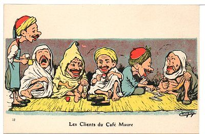 RARE 1907 Postcard French Algiers North Africa Prostitution Pre WWI Unposted #4