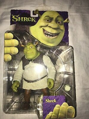 New SHREK 2001 6 inch Shrek Action Figure NEW NIP McFarlane Toys