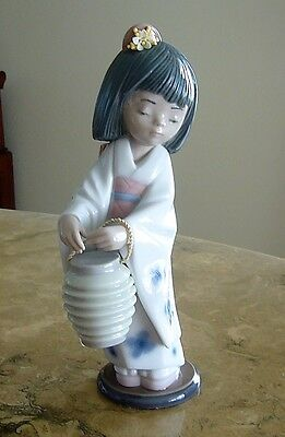 LLADRO Figurine  ORIENTAL LANTERN # 6231 Perfect Condition ***