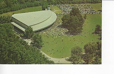 Aerial View: Tanglewood in the Berkshires, Music Shed, Boston Symphony Orchestra