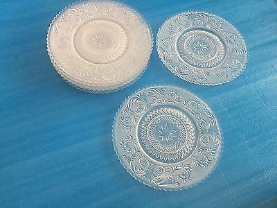 Lot Of 7  Duncan Miller Sandwich  Salad Or Luncheon Plates