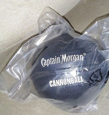 Captain Morgan Cannonball Limited Promotional Plastic Drink Cup Mug New