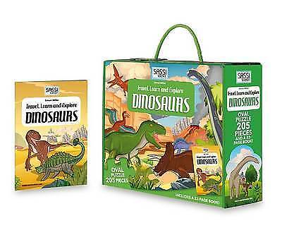 Sassi Travel Learn and Explore (Dinosaurs) by Simon Miller Board book