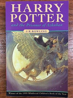 Harry Potter and The Prisoner of Azkaban BOOK by JK Rowling (paperback)
