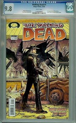 Walking Dead 1 Cgc 9.8 COMIC BOOK GRAB BAG NEW MUTANTS 98 AMAZING FANTASY 15