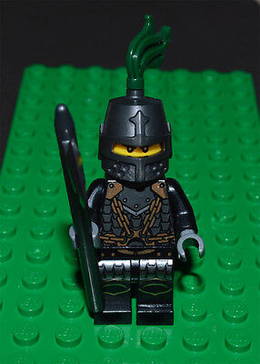 Lego Minifigure Dragon Knight Scale Mail Closed Helmet