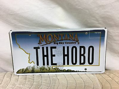 "2006 Montana Vanity/personalized Plate ""theh0B0"" (The Hobo)"