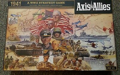 Axis and Allies 1941 Board Game (Toy) Very Good Condition WW2 World War 2