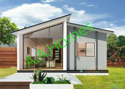 'Eirene' - 2 bedroom steel frame kit home