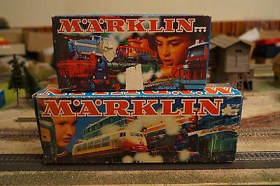 Marklin, Empty Boxes For 3003, 3095 Steam Engines, Scale Ho