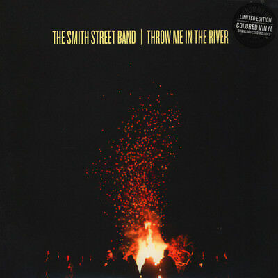 Smith Street Band Throw Me In The River BLACK/GREY SMOKE vinyl LP + download NEW