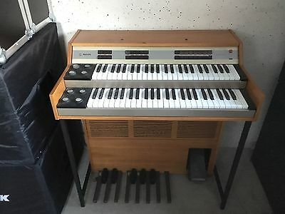 Philips Philicorda Orgel Organ Vintage MADE IN GERMANY VERY RARE GM755/22 VGC.