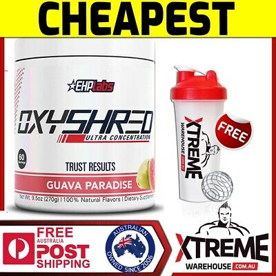 EHP LABS OXY SHRED 60 SRV Passionfru// EHPLABS FAT BURNING WEIGHT LOSS OXYSHRED