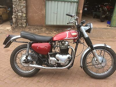 Matchless G15CS motorcycle from USA maching numbers Norton 750 engine 1966