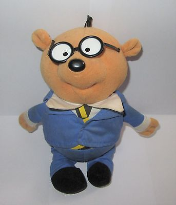 """Official Dangermouse Penfold Talking 9"""" Plush Soft Toy With Sound"""
