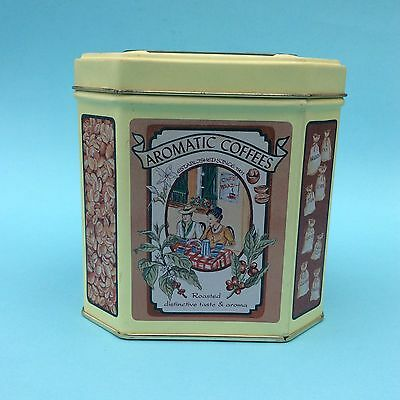 RETRO AROMATIC COFFEES TIN SOUTH AFRICA Horus Int Cape Town Misha Design Studio