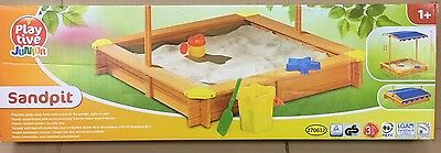 Sandpit With Roof