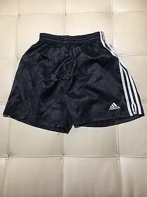 Kids Youth Adidas Black Running Athletic Jogging Shorts Size XL MINT