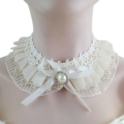 White Lace False Collar Summer/Spring Women Accessories Choker Necklace