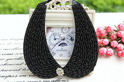 Elegant Black False Collar Summer/Spring Women Accessories Choker Necklace