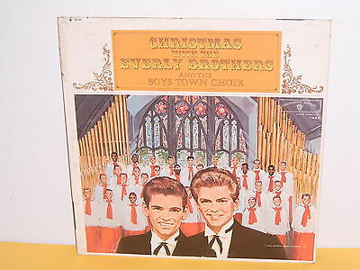 Lp - Everly Brothers And The Boys Town Choir - Christmas With The