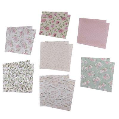 24 Sheets Scrapbooking Paper Craft DIY Card Making Photo Album Design Paper