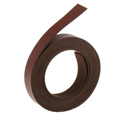 2 Meters Leather Strap Strips Leather Crafts DIY Belt Handle DIY Wine Red