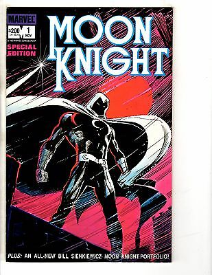 Lot Of 3 Moon Knight Special Edition Marvel Comic Books # 1 2 3 Avengers GM8
