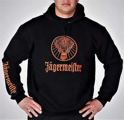 Jagermeister Sweatshirt Hoodie high quality embroidery Free Shipping Best offer