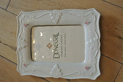 Fine Parian China Donegal photo Frame  Made in Ireland