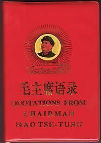 Quotations from Chairman Mao Tse-tung (Chairman Mao's Little Red Book) (Eng-Chn)