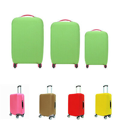 6 Colors Travel Luggage Elastic Fabric Cover Suitcase Protector 20/24/28 Inch
