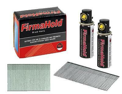 Firmahold 16g Angled Brad Nail Second Fix Brads Gas Fuel Cell Paslode Compatible