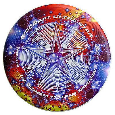NG - Discraft Ultrastar 175g Ultimate Frisbee SUPERCOLOR Starscape
