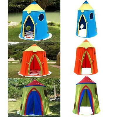 Baby Kids Portable Play Tent Outdoor Indoor Palace Castle House Playhouse