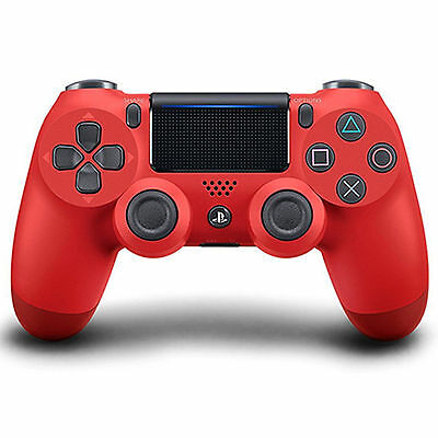 new red Dualshock 4 PlayStation 4 Wireless Controller gamepad for PS4 PC