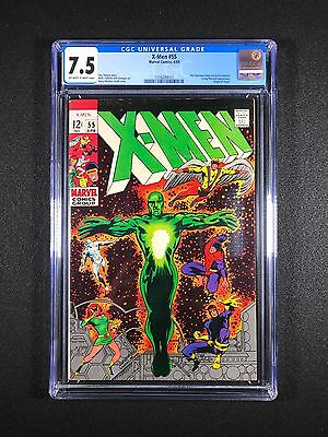 X-Men #55 CGC 7.5 (1969) - New CGC Case - Origin of Angel