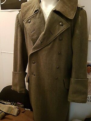 ww2 german greatcoat reproduction/ re-enactment.