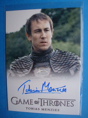 **GAME Of THRONES** GoT Season 3 Auto/AutoGraph Card *MENZIES as Edmure TULLY*